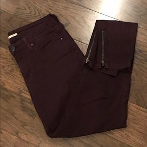 Vince ankle zip pants sz. 28